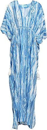 Melissa Odabash Melissa Odabash Woman Printed Voile Maxi Dress Light Blue Size ONESIZE