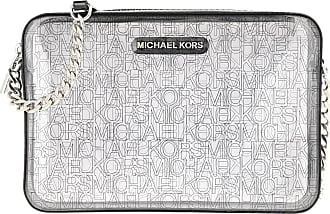 Michael Kors Cross Body Bags - Jet Set Crossbody Bag Clear/Black - black - Cross Body Bags for ladies