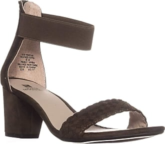 White Mountain Eryn Ankle Strap Sandals, Olive