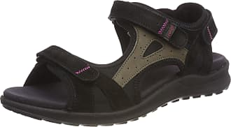 Legero Womens SIRIS Open Sandals, Black-Black, 8 UK