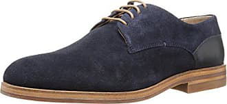Hudson Mens Enrico Suede Oxford, Navy, 13 M US