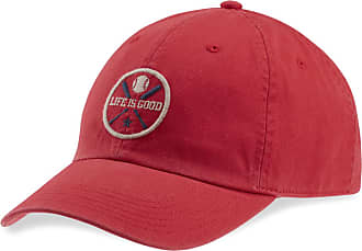 a11cca319dfb3 Life is good LIG Baseball Chill Cap OS Americana Red
