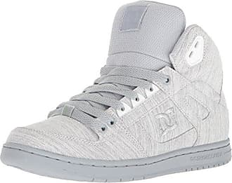 DC Womens Pure HIGH-TOP TX SE Skate Shoe, Grey, 5 B US