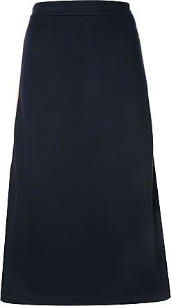 être cécile side stripe skirt - Blue