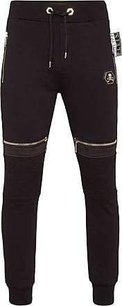 Philipp Plein Jogging Trousers Dangeurous (Small) Black