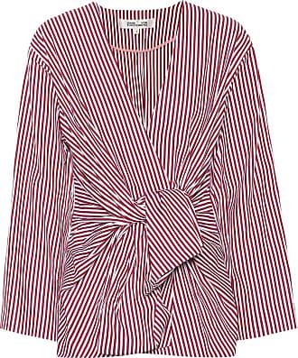 Diane Von Fürstenberg Striped cotton shirt