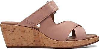 Clarks Womens Sandal Rose Clarks Un Plaza Slide Size 7.5