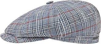 Flatcap Lederkappe Ballonm/ütze mit Schirm Futter Fr/ühling-Sommer Herbst-Winter Stetson Brooklin Goat Schirmm/ütze Herren