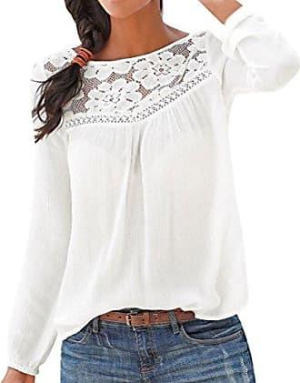 bieten viel authentisch aktuelles Styling Blusen in Weiß: 10221 Produkte bis zu −71% | Stylight
