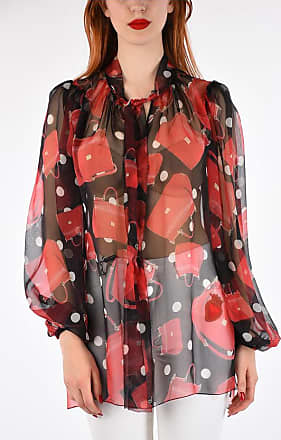 75ba2bada9f4ff Dolce   Gabbana Silk Bags Printed Top size 38