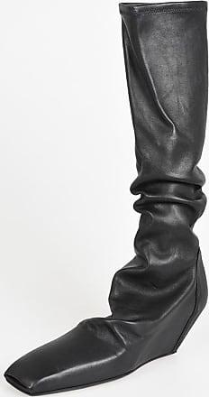 Rick Owens Stivali SLIVER SOCK STIVALI in Pelle 6 cm taglia 38 7f35d5322c1