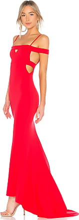 Lovers + Friends Cece Gown in Red