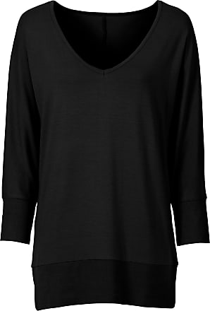e9bc7b1ebfa9f9 Bonprix Oversized-Shirt 3 4 Arm in schwarz von bonprix