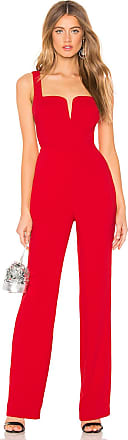 NBD Forget Me Not Jumpsuit in Red