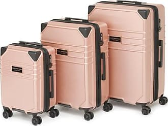 Andrew Marc Classic Hardside Luggage 3 Piece - Rose Gold