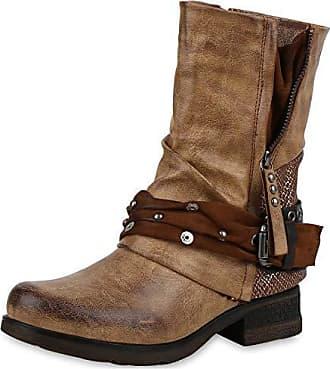 RIEKER Schnür Boots Damen Wildleder dunkelbraun 40