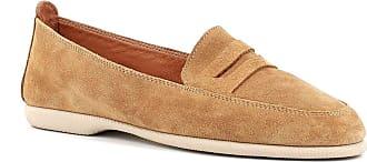 Generico Blender Suede Loafers Rubber Bottom, Brown Brown Size: 6 UK