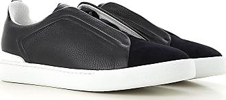 c82f7fbd44 Ermenegildo Zegna Sneaker Uomo On Sale, Blu Navy, pelle, 2017, 41