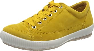 Legero Womens Tanaro Low-Top Sneakers, Yellow (Sunshine (Gelb) 62), 4 UK