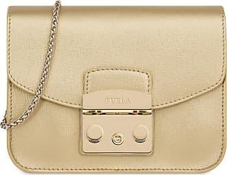 d5ec61ae0423 Furla METROPOLIS mini borsa a bandoliera color gold