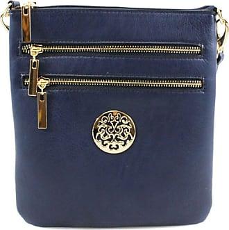 Your Dezire Ladies Cross Body Messenger Bag Women Shoulder Over Bags Detachable Handbags (Small, Navy)