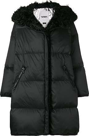 Yves Salomon - Army Kalgan coat - Black
