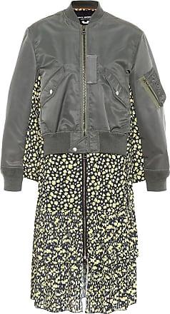 Junya Watanabe Bomber jacket midi dress