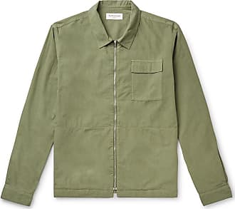 Ymc You Must Create Cotton And Modal-blend Poplin Jacket - Army green