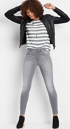 8e1da1385 Maurices Everflex Gray High Rise Stretch Skinny Jean