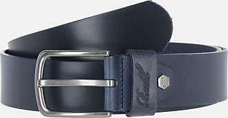 Reell Reell All Black Buckle Belt, Gürtel Herren, Ledergürtel für Männer