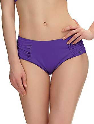 Fantasie Los Cabos Deep Gathered Bikini Brief Violet Purple Medium