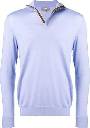 N.Peal half-zip jumper - Blue