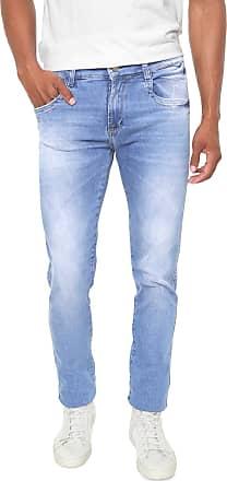 Sawary Calça Jeans Sawary Slim Sk Comfort Azul