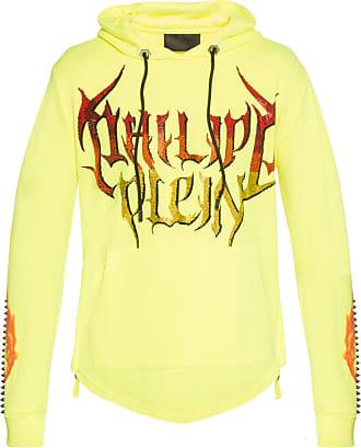 Philipp Plein Hooded Sweatshirt Mens Yellow