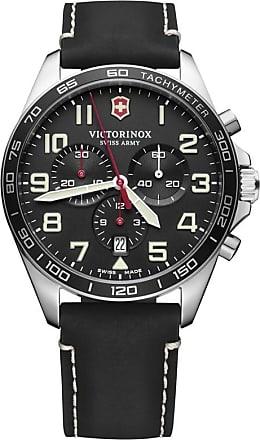 Victorinox by Swiss Army Relógio Fieldforce Chronograph 42mm - Homem - Preto - 42mm CH