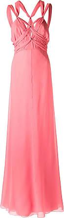Tufi Duek Vestido longo de seda - Rosa