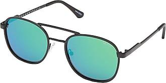 Quay Eyeware Quay x ARod Apollo (Black/Blue Green) Fashion Sunglasses