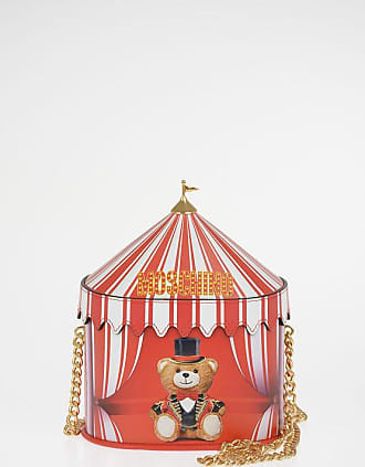 Moschino COUTURE! Leather CIRCUS Shoulder Bag Größe Unica