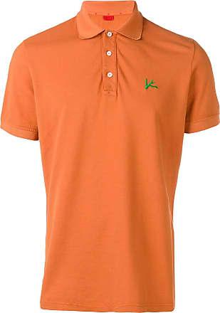Isaia logo polo shirt - Orange