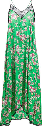 Zadig & Voltaire floral-print maxi slip dress - Green