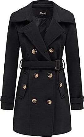 best website e368f 5ccf6 Damen-Trenchcoats in Schwarz Shoppen: bis zu −80% | Stylight