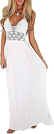 Lang ärmel mit kleider weiße Weiße kleider
