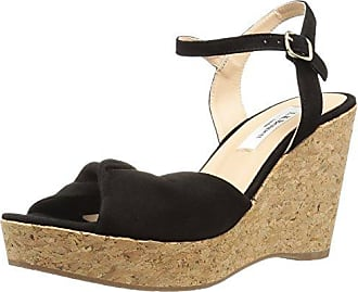 5efecf4fbce L.k. Bennett Womens Adeline Wedge Sandal bla-Black 40 Medium UK (9.5 US)