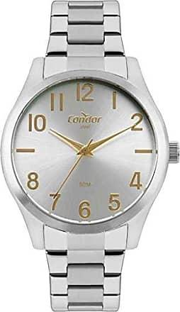 Condor Relógio Condor Aço Masculino Prata Co2035mqc/4k