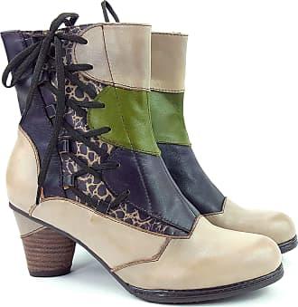 Laura Vita Womens Lmd157-8 Taupe Boots Beige Size: 5
