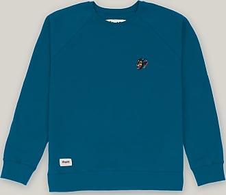 Brava Fabrics Mens Sweatshirt - Mens Casual Sweatshirt - Sweatshirt for Men - Model Tattoo Panther