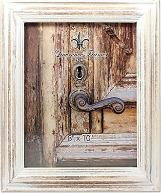 Lawrence Frames 8x10 White Wash Maple Picture Frame