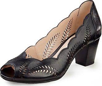 Gerry Weber Lambskin nappa leather Peep-toe shoes Lotta Gerry Weber black