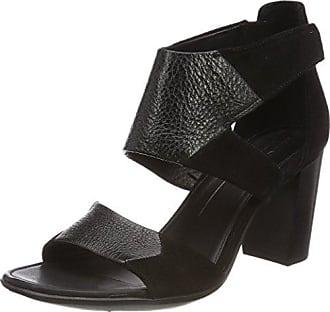bd0ba7d3 Ecco Ecco Shape 65, Zapatos de tacón con Punta Abierta para Mujer, Negro  Black