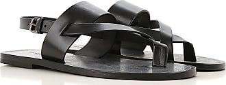 Saint Laurent Sandals for Men On Sale, Black, Leather, 2019, 6.5 7 7.5 8 8.5 9 9.5